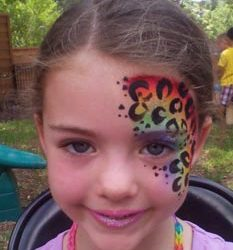 Face painting party Dallas Rockwall