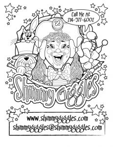 Shimmy-Giggles-Coloring-Page