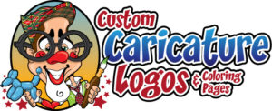 custom caricatures Logo