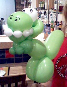 Balloon Animal T-Rex, Rockwall, Dallas, Plano, Frisco, Allen, Mckinney, Texas #watchthemsmile