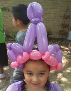 Princess Party Balloon Animals Rockwall Dallas, Frisco, Mckinney, Allen, Plano #watchthemsmile