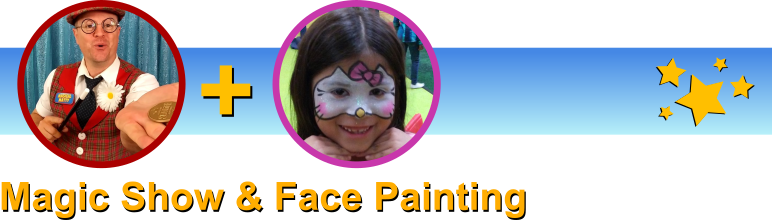 Magical Matty face painting